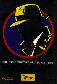Dick Tracy - Advertisement Flyer - Front