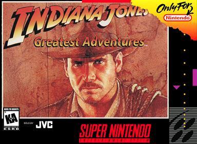 Indiana Jones' Greatest Adventures - Box - Front - Reconstructed