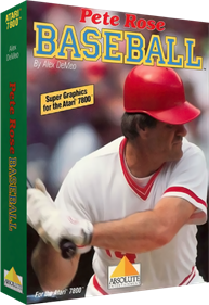 Pete Rose Baseball - Box - 3D