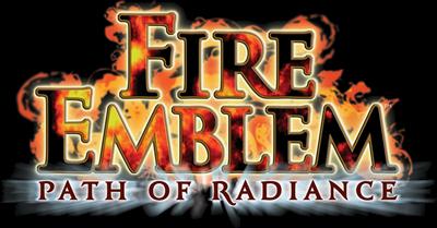 Fire Emblem: Path of Radiance - Clear Logo