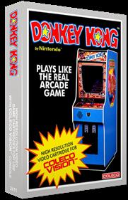 Donkey Kong - Box - 3D