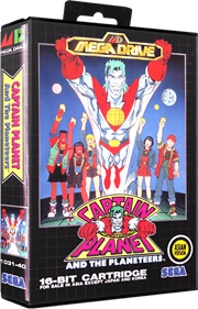 Captain Planet and the Planeteers - Box - 3D