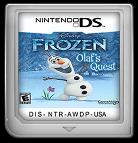 Frozen: Olaf's Quest - Fanart - Cart - Front