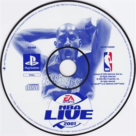 NBA Live 2001 - Disc