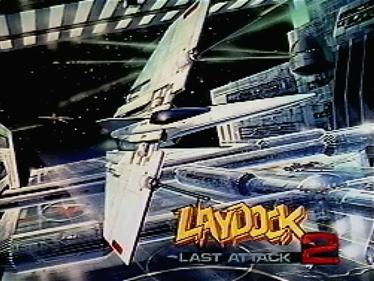 Laydock 2: Last Attack - Screenshot - Game Title