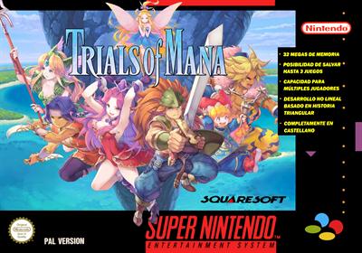 Trials of Mana - Fanart - Box - Front