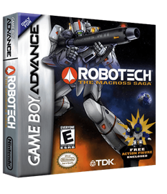 Robotech: The Macross Saga - Box - 3D