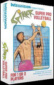 Spiker! Super Pro Volleyball - Box - 3D