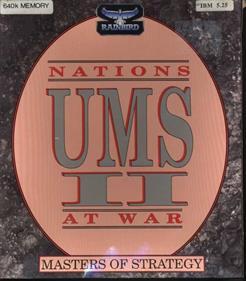UMS II: Nations at War - Box - Front