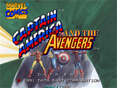 Captain America and the Avengers - Screenshot - Game Title