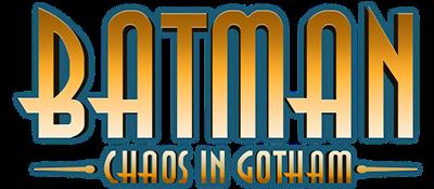 Batman: Chaos in Gotham - Clear Logo