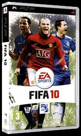 FIFA Soccer 10 - Box - 3D