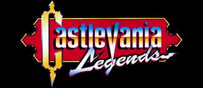 Castlevania Legends - Clear Logo