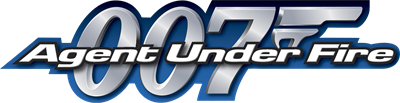 007: Agent Under Fire - Clear Logo