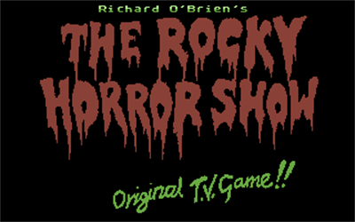 The Rocky Horror Picture Show - Screenshot - Game Title