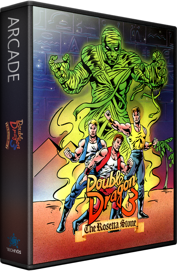Double Dragon 3 The Rosetta Stone Details Launchbox Games Database