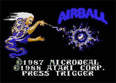 Airball - Screenshot - Game Title