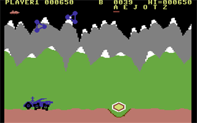 Moon Patrol (Atarisoft) - Screenshot - Gameplay