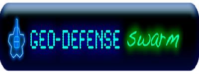 GeoDefense Swarm - Clear Logo