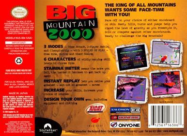 Big Mountain 2000 - Box - Back