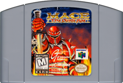 Mace: The Dark Age - Cart - Front