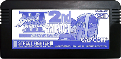 Street Fighter III 2nd Impact: Giant Attack - Cart - Front