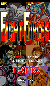 Eight Forces - Screenshot - Game Title
