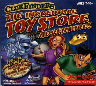 ClueFinders: The Incredible Toy Store Adventure!