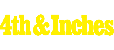 4th & Inches - Clear Logo