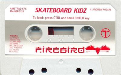 Skateboard Kidz - Cart - Front