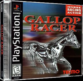 Gallop Racer - Box - 3D