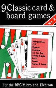 9 Classic card and board games : No. 2