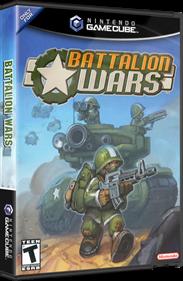 Battalion Wars - Box - 3D