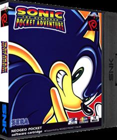 Sonic the Hedgehog Pocket Adventure - Box - 3D