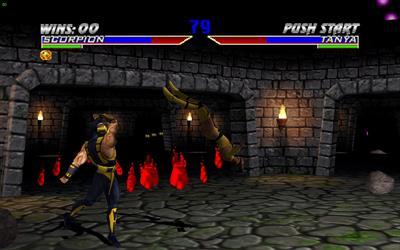 Mortal Kombat Gold - Screenshot - Gameplay