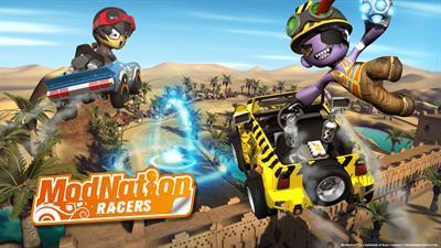 ModNation Racers - Fanart - Background