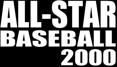 All-Star Baseball 2000 - Clear Logo