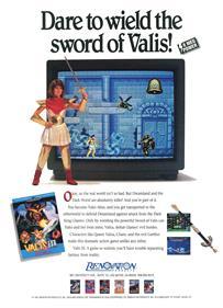 Valis III - Advertisement Flyer - Front