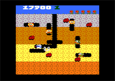 Dig Dug - Screenshot - Gameplay