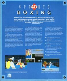 4-D Boxing - Box - Back