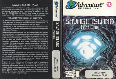 Savage Island Part One - Fanart - Box - Front