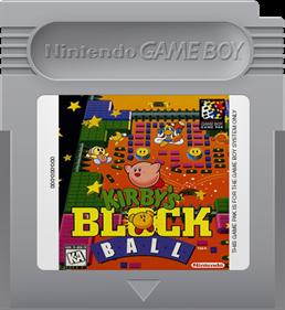 Kirby's Block Ball - Fanart - Cart - Front