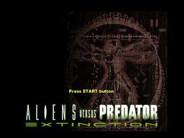 Aliens Versus Predator: Extinction - Screenshot - Game Title
