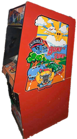 Bump 'n' Jump - Arcade - Cabinet
