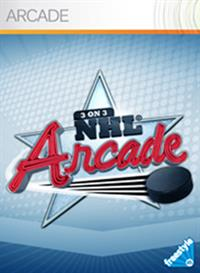3 on 3 NHL Arcade - Box - Front