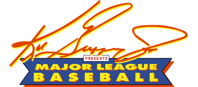 Ken Griffey Jr. Presents Major League Baseball - Clear Logo