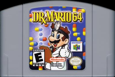 Dr. Mario 64 - Cart - Front
