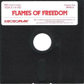Flames of Freedom - Disc