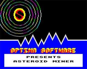 Asteroid Miner - Screenshot - Game Title