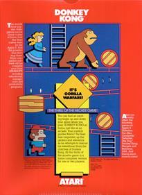 Donkey Kong - Box - Back